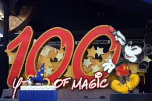 100 Years of Magic Sign in Disney World (from:http://www.pbol.com/pechter/disney100/gallery.htm)